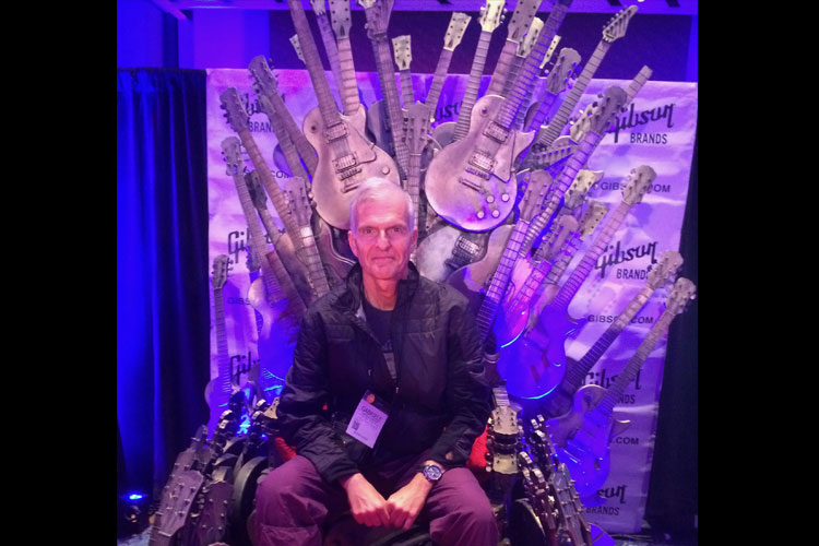 On the Throne @NAMM